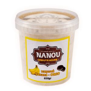 Παγωτό Banana-Oreo