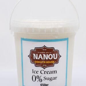 Παγωτό 0% sugar free